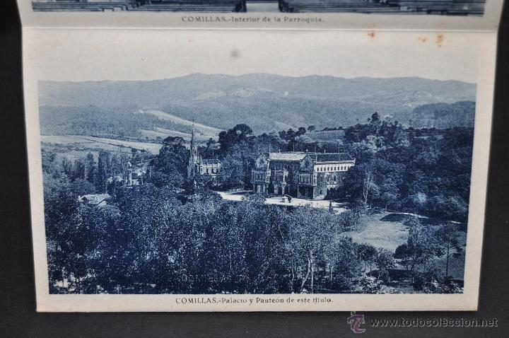 Postales: TIRA POSTAL RECUERDO DE COMILLAS. CANTABRIA. ED. ARRIBAS. 10 TARJETAS - Foto 10 - 44036321