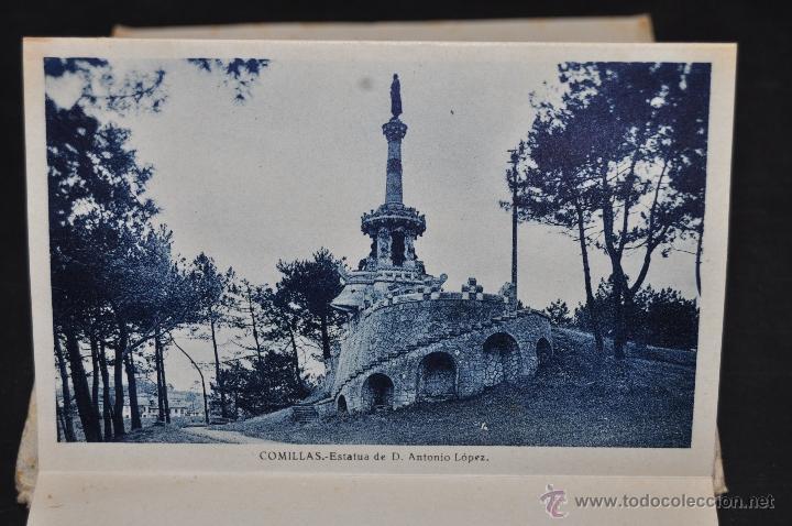 Postales: TIRA POSTAL RECUERDO DE COMILLAS. CANTABRIA. ED. ARRIBAS. 10 TARJETAS - Foto 11 - 44036321
