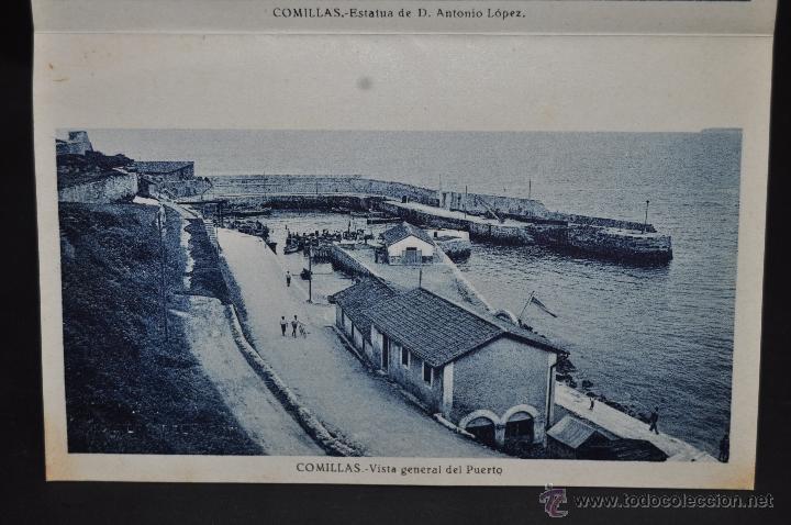 Postales: TIRA POSTAL RECUERDO DE COMILLAS. CANTABRIA. ED. ARRIBAS. 10 TARJETAS - Foto 12 - 44036321