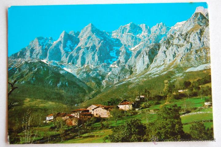 POSTAL VISTA PICOS DE EUROPA DESDE TANARRIO (CANTABRIA). (Postales - España - Cantabria Moderna (desde 1.940))