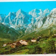 Postales: POSTAL VISTA PICOS DE EUROPA DESDE TANARRIO (CANTABRIA).. Lote 44252072