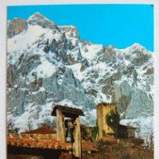 Postales: POSTAL DE LOS PICOS DE EUROPA DESDE MOGROVIEJO (CANTABRIA).. Lote 44279955