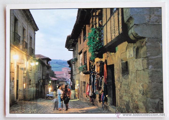 POSTAL DE SANTILLANA DEL MAR (CANTABRIA). (Postales - España - Cantabria Moderna (desde 1.940))