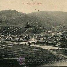 Postales: RRR POSTAL DE LIMPIAS - CANTABRIA - EDITADA POR LF TOULOUSE - SERIE 1 - VISTA DE LIMPIAS. Lote 44434803