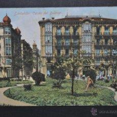 Postales: ANTIGUA POSTAL DE SANTANDER. CANTABRIA. CASAS DEL BULEVAR. ESCRITA. Lote 44892817
