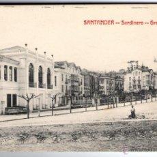 Postales: MUY RARA Y ANTIGUA POSTAL DE SANTANDER - SARDINERO GRAN CASINO. Lote 45102571