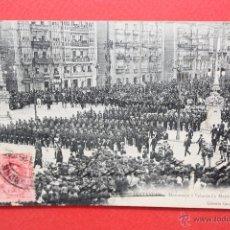 Postales: ANTIGUA POSTAL DE SANTANDER. CANTABRIA. HOMENAJE A VELARDE (2 MAYO 1908). CIRCULADA. Lote 45235271