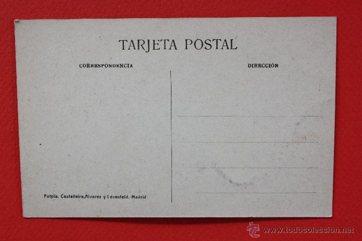 Postales: ANTIGUA POSTAL DE SANTILLANA. CANTABRIA. CALLE DE JUAN INFANTE. FOTPIA. CASTAÑEIRA. SIN CIRCULAR - Foto 2 - 45235299