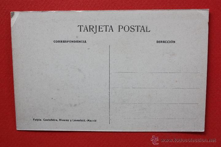 Postales: ANTIGUA POSTAL DE SANTILLANA. CANTABRIA. CALLE DE SANTO DOMINGO. FOTPIA. CASTAÑEIRA. SIN CIRCULAR - Foto 2 - 45235471