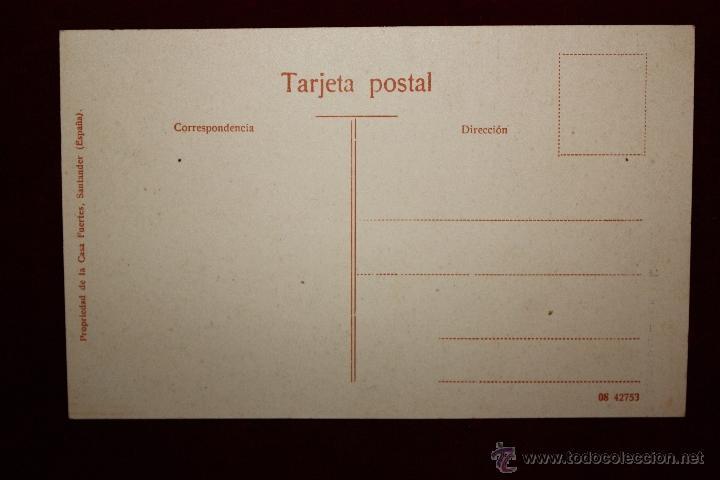 Postales: ANTIGUA POSTAL DE SANTANDER. CANTABRIA. BANCO MERCANTIL. SIN CIRCULAR - Foto 2 - 45236042