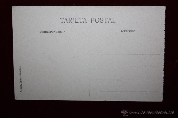 Postales: ANTIGUA POSTAL DE COMILLAS. CANTABRIA. VISTA PARCIAL DE LA PLAYA. ED. M. SOLÍS. SIN CIRCULAR - Foto 2 - 45272393