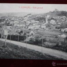 Postales: ANTIGUA POSTAL DE COMILLAS. CANTABRIA. VISTA GENERAL. ED. M. SOLÍS. SIN CIRCULAR. Lote 45272799