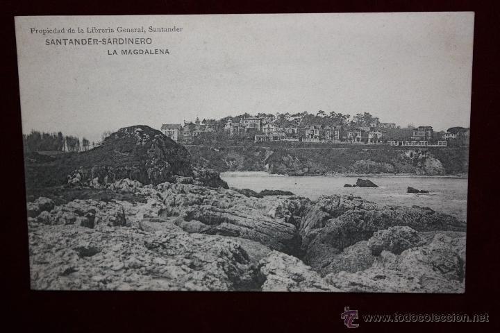 ANTIGUA POSTAL DE SANTANDER. CANTABRIA. SARDINERO, LA MAGDALENA. HAUSER Y MENET. SIN CIRCULAR (Postales - España - Cantabria Antigua (hasta 1.939))