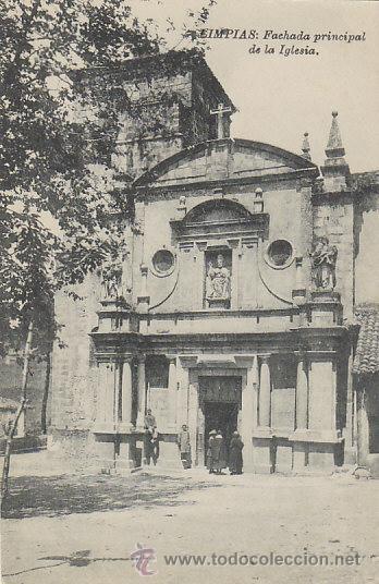 LIMPIAS, FACHADA PRINCIPAL DE LA IGLESIA. NO FIGURA EL EDITRO (Postales - España - Cantabria Antigua (hasta 1.939))