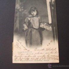 Postales: SANTANDER COLECCION CAPUCHINO Nº 6 PROPIEDAD DE R. PACHECO ARCOS DE DORIGA 3 SANTANDER 1902 CIRCULAD. Lote 45436496