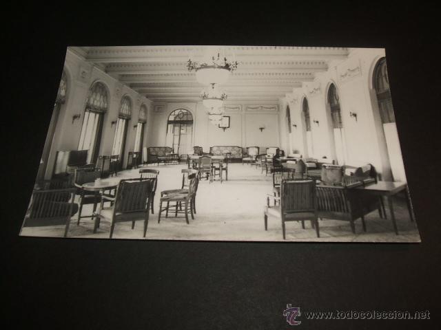 CORCONTE CANTABRIA UN SALON DEL GRAN HOTEL (Postales - España - Cantabria Antigua (hasta 1.939))