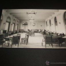 Postales: CORCONTE CANTABRIA UN SALON DEL GRAN HOTEL. Lote 45446770