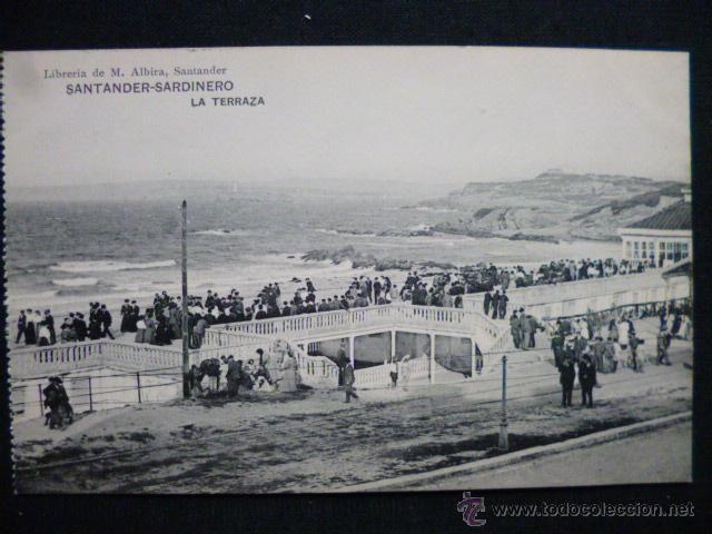 SANTANDER - SARDINERO. LA TERRAZA. (Postales - España - Cantabria Antigua (hasta 1.939))