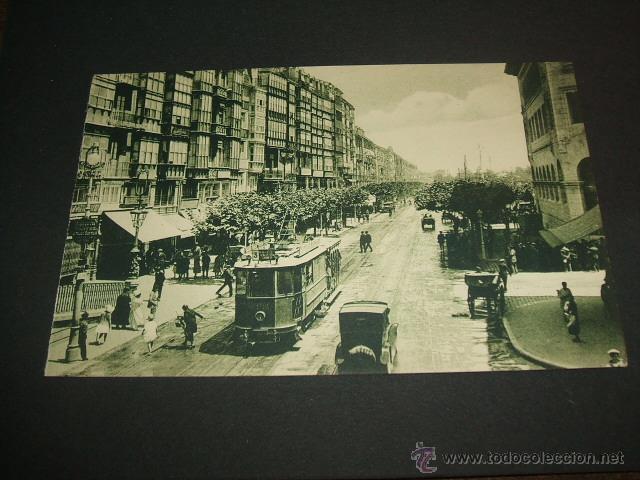 SANTANDER LA RIBERA TRANVIA (Postales - España - Cantabria Antigua (hasta 1.939))