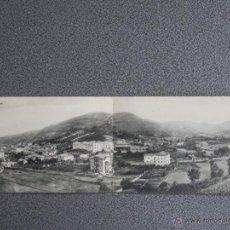 Postales: CANTABRIA LIMPIAS RARA POSTAL DOBLE VISTA PANORÁMICA. Lote 45644783