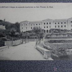 Postales: CANTABRIA LIMPIAS COLEGIO SAN VICENTE DE PAUL POSTAL ANTIGUA. Lote 45645094