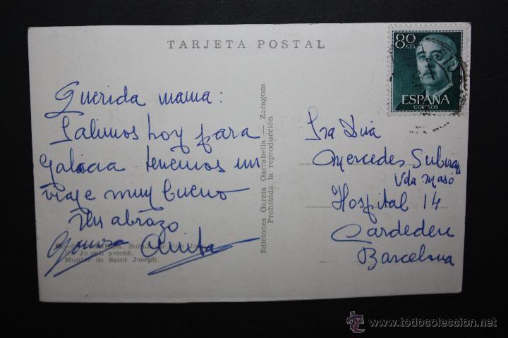 Postales: ANTIGUA FOTO POSTAL DE SANTANDER. SUBIDA DE SAN JOSE. ED. GARCIA CARRABELLA. CIRCULADA - Foto 2 - 45919330