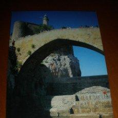Postales: POSTAL DE CASTRO URDIALES-CANTABRIA-CASTILLO DEL FARO.. Lote 45934720