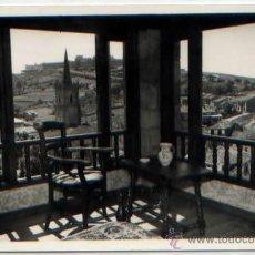 Postales: POSTAL COMILLAS HOTEL CASAL DEL CASTRO VISTA DESDE UNA HABITACION FOTO IMPERIO. Lote 46527290