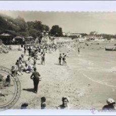 Postales: ANTIGUA POSTAL FOTOGRÁFICA ANIMADA - 42. SANTANDER. PLAYA DE LA MADGALENA - CIRCULADA, AÑO 1959. Lote 46673589