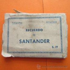 Postales: POSTAL - SANTANDER - BLOC CON 10 POSTALES SIN DIVIDIR - DOMINGUEZ - NO CIRCULADA. Lote 48316282