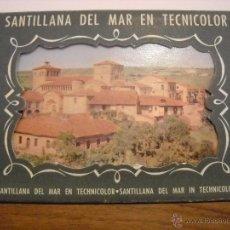 Postales: SANTILLANA DEL MAR EN TECNICOLOR. Lote 48657649