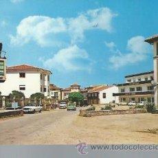 Postales: 2 NOVALES SANTANDER PLAZA DEL PIO XII, FOTO BUSTAMANTE HURTADO. Lote 48862608