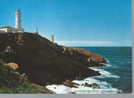 168 SANTANDER, FARO CABO MAYOR Y COSTA, FOTO ALSAR (Postales - España - Cantabria Moderna (desde 1.940))