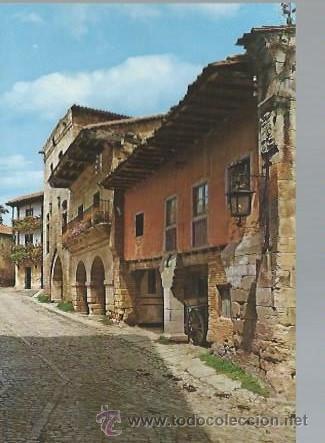 174 SANTILLANA DEL MAR, SANTANDER, CALLE TÍPICA NUM 2, FOTO BUSTAMANTE (Postales - España - Cantabria Moderna (desde 1.940))