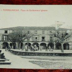 Postales: TORRELAVEGA (CANTABRIA) PLAZA DE BALDOMERO IGLESIAS, Nº 7 THOMAS, ESCRITA. Lote 49060705