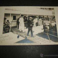 Postales: SANTANDER LA REINA VICTORIA EUGENIA EN EL INFANTA ISABEL AGOSTO DE 1918 POSTAL FOTOGRAFICA. Lote 49712800