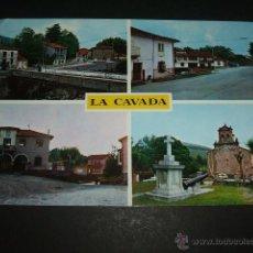 Postales: LA CAVADA CANTABRIA VARIAS VISTAS 1968. Lote 50311036