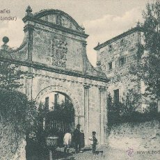 Postales: POSTAL PALACIO MONTAÑES EN ALCEDA - EDICIÓN VILCHES. Lote 50482088