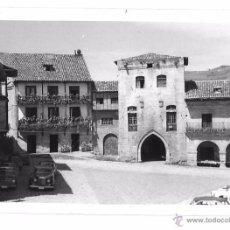 Postales: FOTO ANTIGUA DE SAN VICENTE DE LA BARQUERA,CANTABRIA,SANTANDER,AÑOS 60,PEQUEÑO DETALLE. Lote 50551114