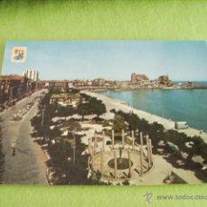 Postales: CASTRO URDIALES ( SANTANDER ) PARQUE AMESTOY Y PUERTO. Lote 50568320