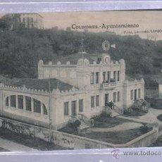 Postales: TARJETA POSTAL DE COLINDRES, CANTABRIA - AYUNTAMIENTO. FOTO LEONCIO, LIMPIAS. Lote 51134141