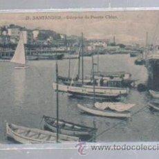 Postales: TARJETA POSTAL DE SANTANDER, CANTABRIA - DARSENA DE PUERTO CHICO. 27.. Lote 51237992