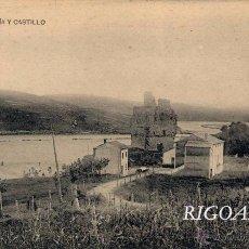 Postais: SUANCES (CANTABRIA).- RÍA Y CASTILLO. Lote 51417373