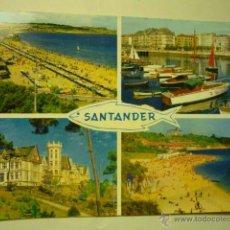 Postales: POSTAL SANTANDER.- CIRCULADA BB. Lote 51573638