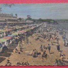 Postales: SANTANDER, CANTABRIA. EL SARDINERO, PRIMERA PLAYA. CIRCULADA. 1958.. Lote 52527556