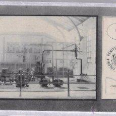 Postales: TARJETA POSTAL COLONIA PENITENCIARIA DEL DUESO. CENTRAL ELECTRICA. 1910. SANTANDER.. Lote 52569869