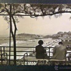 Postales: SANTANDER , EL SARDINERO, POSTAL CIRCULADA , CON SELLO DEL AÑO 1954. Lote 52634847