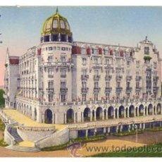 Postales: TARJETA POSTAL HOTEL REAL. SANTANDER. A. TRUB. SUIZA. CIRCA 1930. Lote 52820673
