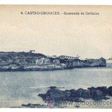 Postales: TARJETA POSTAL CASTRO URDIALES. ENSENADA DE URDIALES. Nº 6. EDICIONES CASA FÉLIX. Lote 52844748