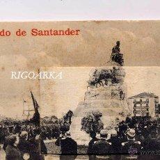 Postales: RECUERDO DE SANTANDER- DESPLEGABLE. Lote 52958086